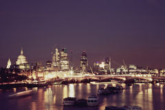 ορίζοντας του Λονδίνου απεικόνισης σχεδίου εσείς Στοκ φωτογραφία με δικαίωμα ελεύθερης χρήσης