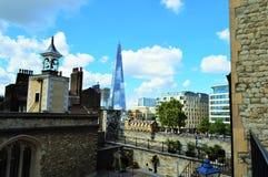 ορίζοντας του Λονδίνο&upsilon Στοκ φωτογραφίες με δικαίωμα ελεύθερης χρήσης