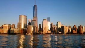 Ορίζοντας του Μανχάταν Νέα Υόρκη Στοκ φωτογραφίες με δικαίωμα ελεύθερης χρήσης