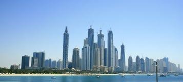 ορίζοντας του Ντουμπάι Στοκ Εικόνες