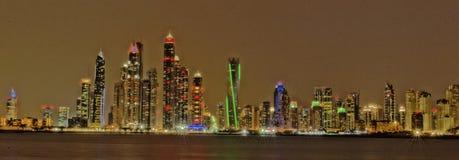 ορίζοντας του Ντουμπάι Στοκ Εικόνα