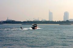 ορίζοντας του Ντουμπάι Στοκ φωτογραφία με δικαίωμα ελεύθερης χρήσης