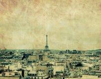 ορίζοντας του Παρισιού Στοκ φωτογραφία με δικαίωμα ελεύθερης χρήσης
