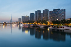 Ορίζοντας του Παρισιού Στοκ Φωτογραφία