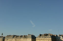ορίζοντας του Παρισιού Στοκ Εικόνα