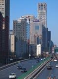 ορίζοντας του Πεκίνου Κίνα αστικός Στοκ φωτογραφία με δικαίωμα ελεύθερης χρήσης