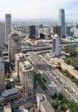 ορίζοντας του Πεκίνου Κίνα αστικός Στοκ Εικόνες