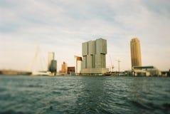 Ορίζοντας του Ρότερνταμ Στοκ φωτογραφίες με δικαίωμα ελεύθερης χρήσης