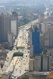 Ορίζοντας του Σάο Πάολο, Βραζιλία. στοκ εικόνες με δικαίωμα ελεύθερης χρήσης