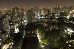 Ορίζοντας του Σάο Πάολο ` s Στοκ φωτογραφία με δικαίωμα ελεύθερης χρήσης