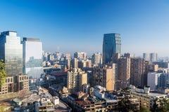 Ορίζοντας του Σαντιάγο, Χιλή στοκ εικόνες