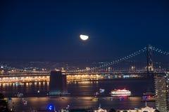 Ορίζοντας του Σαν Φρανσίσκο Στοκ Φωτογραφία