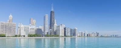 Ορίζοντας του Σικάγου Στοκ Φωτογραφίες