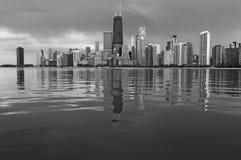 Ορίζοντας του Σικάγου Στοκ εικόνα με δικαίωμα ελεύθερης χρήσης