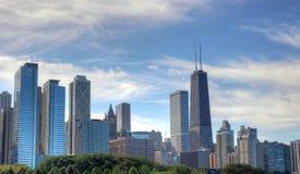 Ορίζοντας του Σικάγου Στοκ Εικόνα
