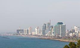 Ορίζοντας του Τελ Αβίβ, Ισραήλ στοκ φωτογραφία