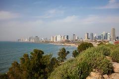 Ορίζοντας του Τελ Αβίβ, Ισραήλ στοκ φωτογραφίες με δικαίωμα ελεύθερης χρήσης