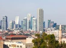 Ορίζοντας του Τελ Αβίβ, Ισραήλ στοκ φωτογραφία με δικαίωμα ελεύθερης χρήσης