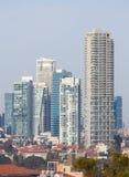 Ορίζοντας του Τελ Αβίβ, Ισραήλ στοκ εικόνα με δικαίωμα ελεύθερης χρήσης