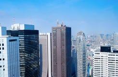 Ορίζοντας του Τόκιο - Ιαπωνία Στοκ Φωτογραφίες