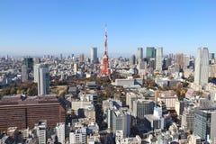 Ορίζοντας του Τόκιο στοκ εικόνα με δικαίωμα ελεύθερης χρήσης