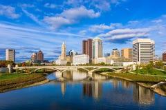 Ορίζοντας του Columbus, Οχάιο, ΗΠΑ στοκ εικόνες με δικαίωμα ελεύθερης χρήσης