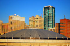 Ορίζοντας του Fort Worth Τέξας Στοκ εικόνες με δικαίωμα ελεύθερης χρήσης