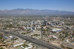 Ορίζοντας του Tucson στοκ εικόνα με δικαίωμα ελεύθερης χρήσης