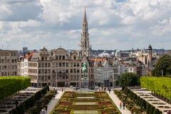 Ορίζοντας των Βρυξελλών Στοκ φωτογραφία με δικαίωμα ελεύθερης χρήσης