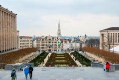 Ορίζοντας των Βρυξελλών Στοκ Εικόνα