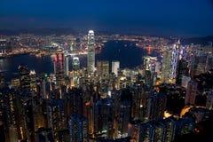 Ορίζοντας Χονγκ Κονγκ Στοκ εικόνα με δικαίωμα ελεύθερης χρήσης