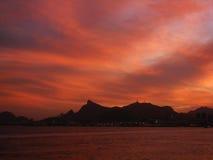 ορίζοντας de janeiro Ρίο Στοκ Φωτογραφίες