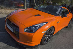 Ορίζοντας GT-ρ Sportscar της Nissan Στοκ εικόνες με δικαίωμα ελεύθερης χρήσης