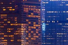 Ορίζοντας Kowloon Χονγκ Κονγκ από το ηλιοβασίλεμα λόφων ΜΚΟ Shan Fei Στοκ φωτογραφία με δικαίωμα ελεύθερης χρήσης