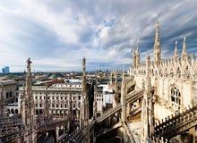 Ορίζοντας Mailand Στοκ φωτογραφίες με δικαίωμα ελεύθερης χρήσης