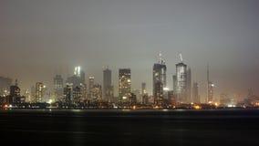 Ορίζοντας Mumbai τη νύχτα Στοκ φωτογραφίες με δικαίωμα ελεύθερης χρήσης