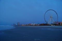 Ορίζοντας Myrtle Beach Στοκ φωτογραφία με δικαίωμα ελεύθερης χρήσης