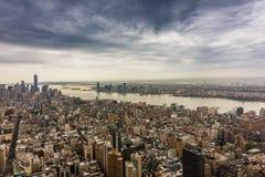 Ορίζοντας NYC Στοκ Εικόνες