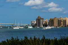 Ορίζοντας Sarasota Στοκ εικόνα με δικαίωμα ελεύθερης χρήσης