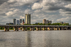 Ορίζοντας Tulsa Στοκ εικόνα με δικαίωμα ελεύθερης χρήσης