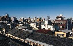 Ορίζοντας Yanaka στο Τόκιο στοκ φωτογραφίες με δικαίωμα ελεύθερης χρήσης
