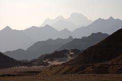 ορίζοντες βουνών στοκ εικόνες