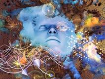 Ορατό μυαλό Στοκ φωτογραφία με δικαίωμα ελεύθερης χρήσης