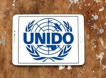 Οργάνωση βιομηχανικής ανάπτυξης Ηνωμένων Εθνών, λογότυπο UNIDO στοκ εικόνες με δικαίωμα ελεύθερης χρήσης