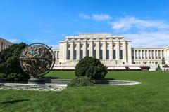 Οργάνωση Ηνωμένων Εθνών Γενεύη Ελβετία στοκ φωτογραφίες