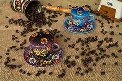 Οργάνωση καφέ Στοκ Εικόνες