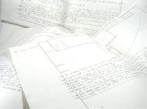 οργάνωση σημειώσεων Στοκ φωτογραφία με δικαίωμα ελεύθερης χρήσης