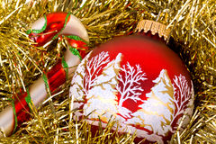 οργάνωση Χριστουγέννων Στοκ Εικόνες