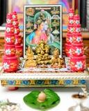 Οργάνωση Haar Pooja Gauri Στοκ Εικόνες