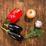 Οργανικά λαχανικά, υγιής έννοια τροφίμων Στοκ Εικόνα